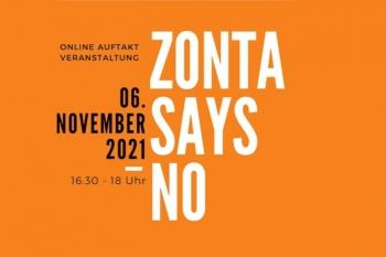 Auftaktveranstaltung Zonta Says No