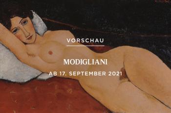 Ausstellung Modigliani - Revolution des Primitivismus - Albertina Wien