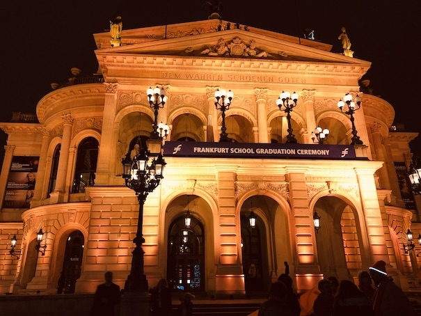Orange The World Frankfurt Alte Oper 2019