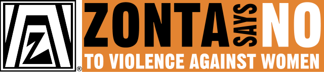 Zonta Says NO to Violence Against Women Logo
